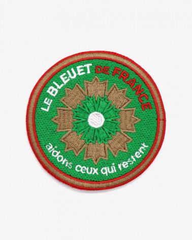 Patch brodé Légion étrangère x Bleuet de France
