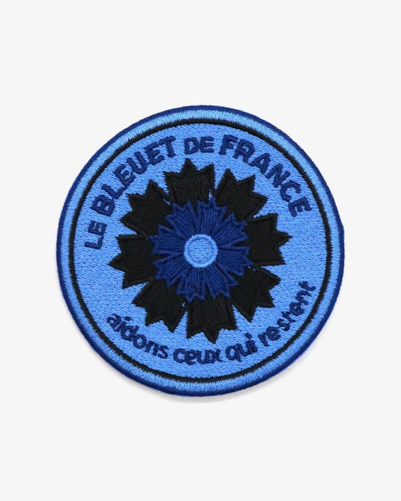 Patch brodé Armée de l'air x Bleuet de France