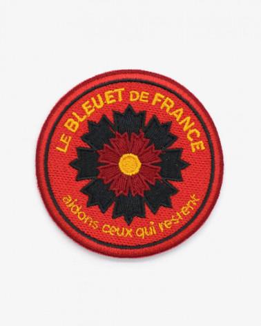 Patch brodé Sapeur-Pompier x Bleuet de France