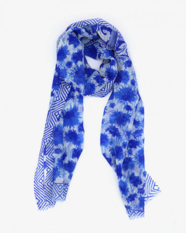 Foulard Bleuet de France x Pétrusse